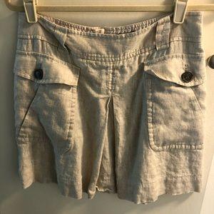 JCrew Metallic Skirt